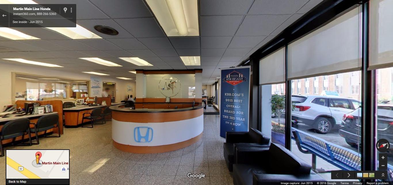 Https://www.google.com/maps/place/Martin+Main+Line+Honda/@40.0059246, 75.286657,3a,75y,118h  ...