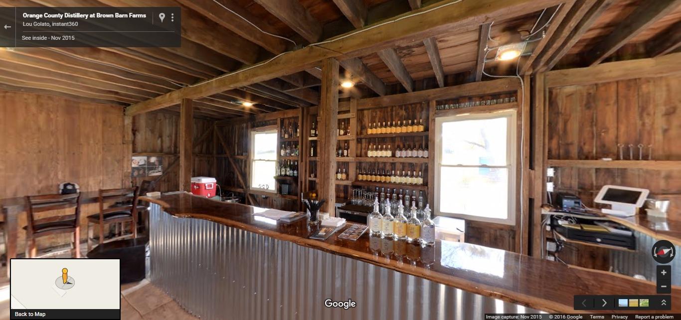 Orange County Distillery At Brown Barn Farms Google Street View