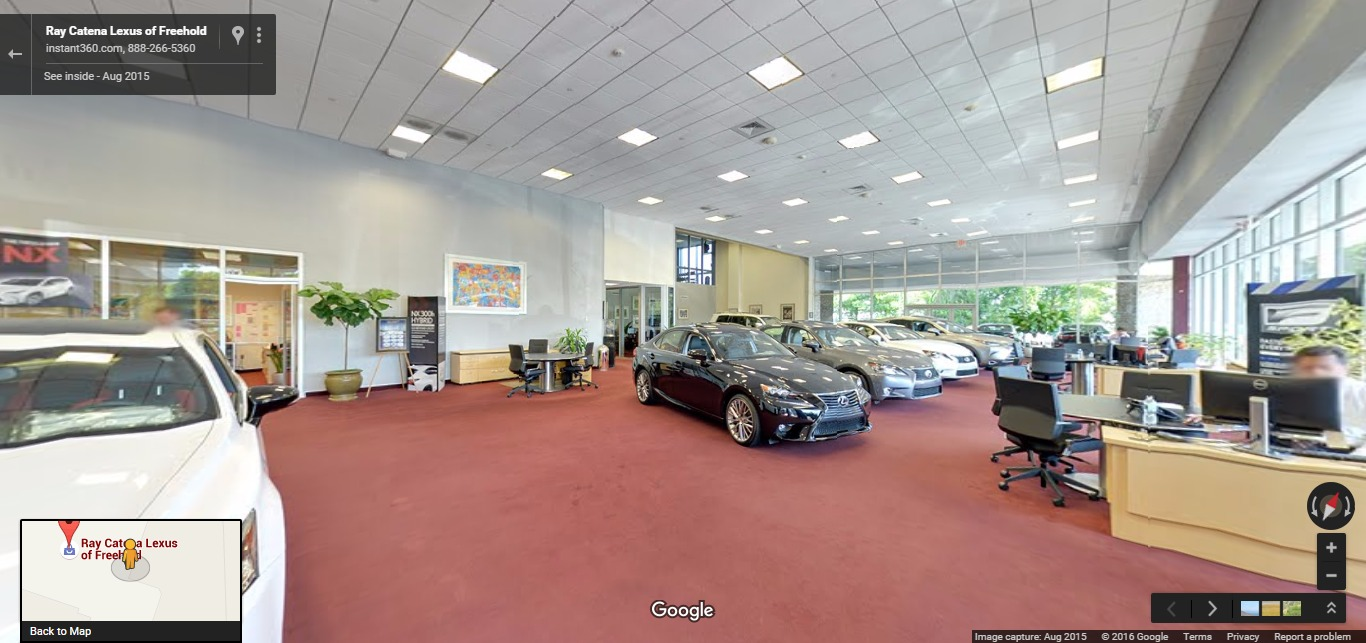 Ray Catena Maserati | Google Street View Trusted Photographers
