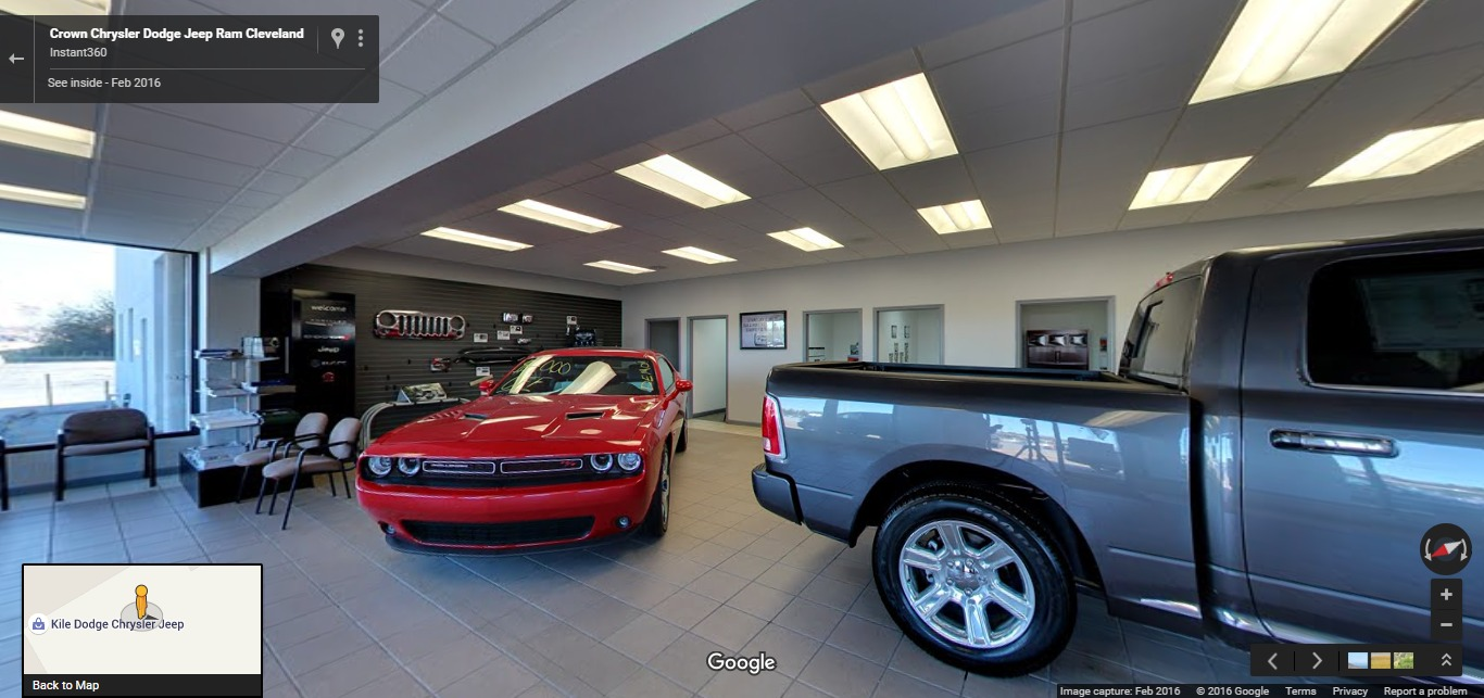 Crown Chrysler Dodge Jeep Ram Cleveland | Google Street View Trusted  Photographers | Instant360