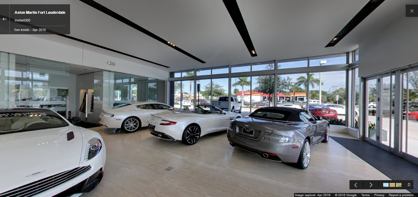 aston martin fort lauderdale | google street view trusted