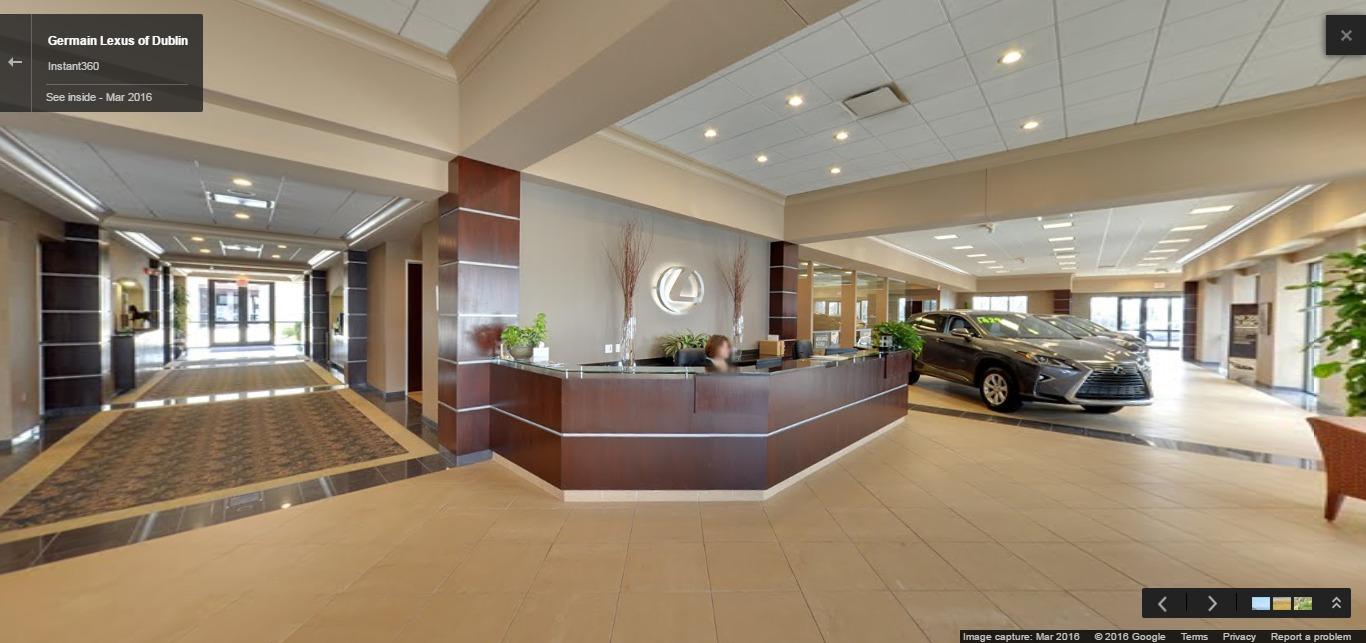Lexus Of Dublin >> Germain Lexus Of Dublin Google Street View Trusted Photographers