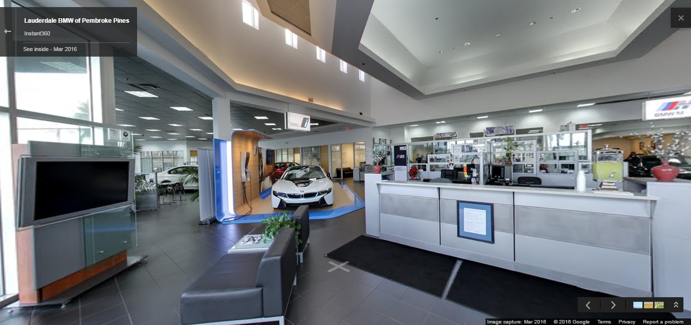 Lauderdale Bmw Of Pembroke Pines Google Street View Trusted Photographers Instant360