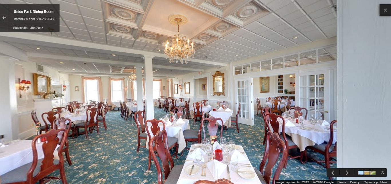 Union Park Dining Room | Cape May Area Restaurants and ...